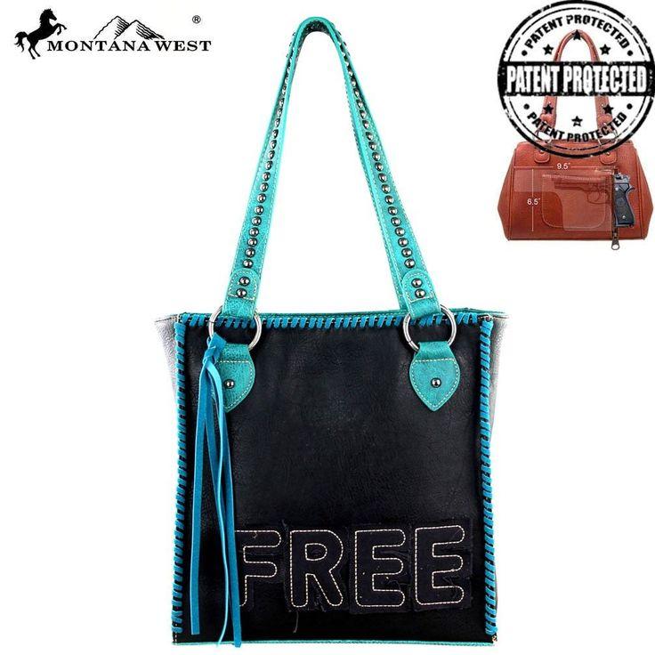 MW293G-8113 Montana West Concealed Carry Handbag