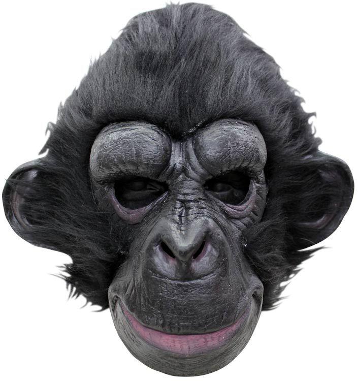 Máscara de gorila de látex
