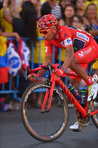 Tour of Spain 2016 Stage 21 Nairo QUINTANA Red Leader Jersey/ Las Rozas Madrid…