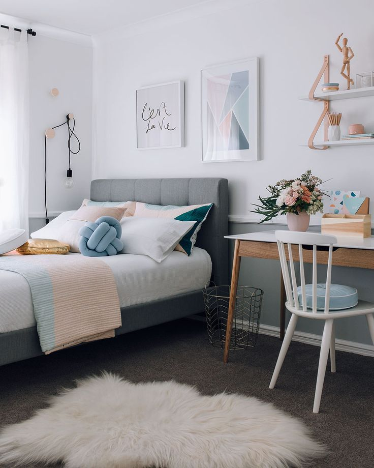 Brilliant Teenage Bedroom Ideas For Small Rooms Pinterest That Look Beautiful Simple Bedroom Bedroom Design Bedroom Furniture