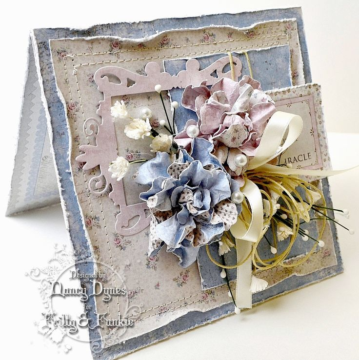 Frilly and Funkie - Nancy Dynes - Tattered Treasures