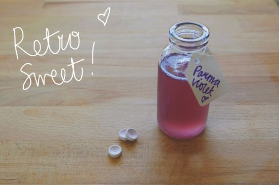 Parma Violets Flavour Syrup for gin