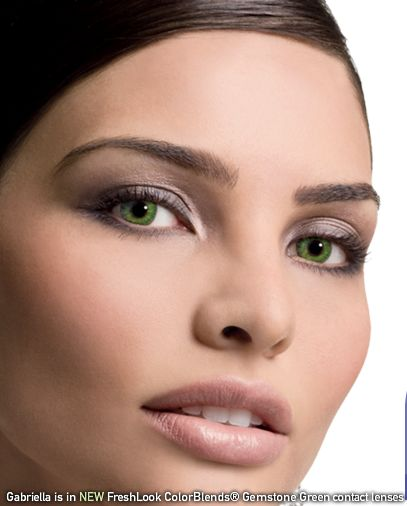 gemstone green freshlook contact lenses