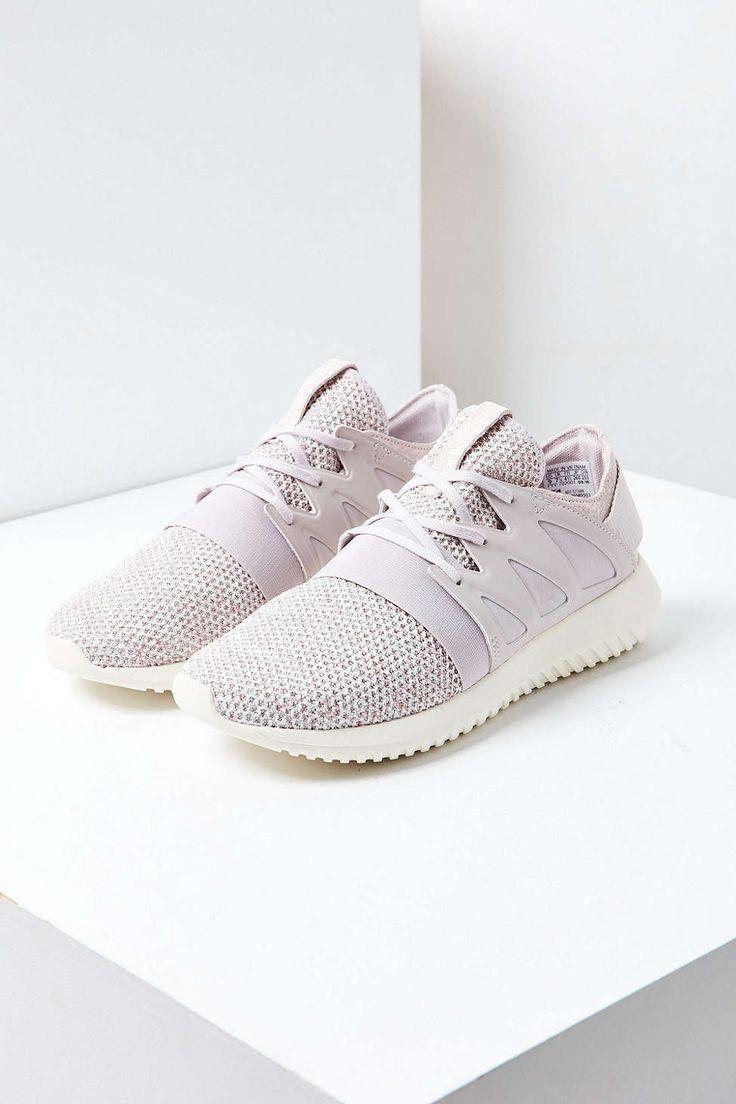 Adidas Tubular Viral Neoprene Sneaker, Metallic Silver/Core White