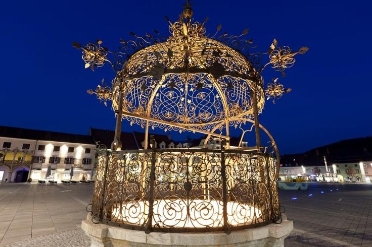 Eiserner Brunnen, ein Wahrzeichen von Bruck an der Mur