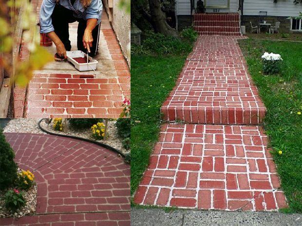 Oltre 25 fantastiche idee su vialetto giardino fai da te - Vialetto giardino illuminato ...