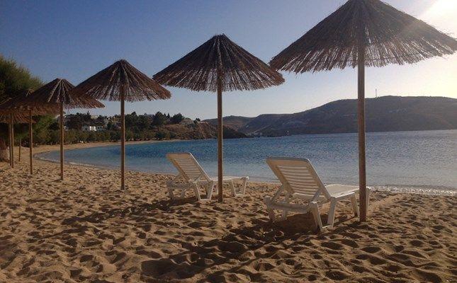 Η αμμουδερή παραλία στα Λιβαδάκια http://diakopes.in.gr/trip-ideas/article/?aid=209233 #serifos #island #greece #aegean