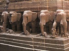 Kailasa temple, Ellora - Wikipedia, the free encyclopedia
