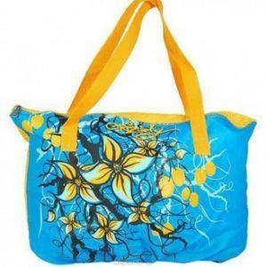 Пляжные сумки с цветами