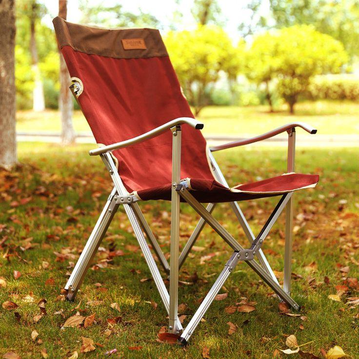 Ultra light Aluminum Alloy Outdoor Folding Chair