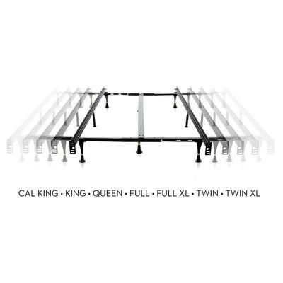 Malouf 6 Leg Adjustable Metal Bed Frame & Reviews