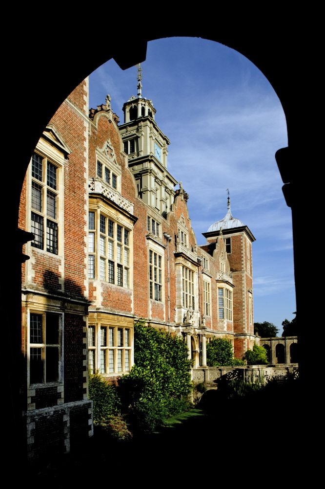 The red-brick mansion on the Blickling Estate was built between 1616-24 by the architect Robert Lyminge for Sir Henry Hobart, 1st Baronet, Lord Chief Justice to James I. ©National Trust Images/John Millar.
