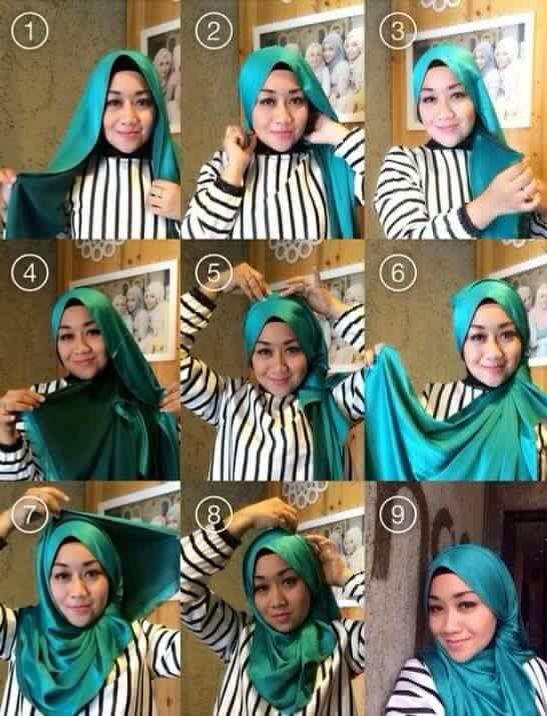 #hijab #tutorial #shawl