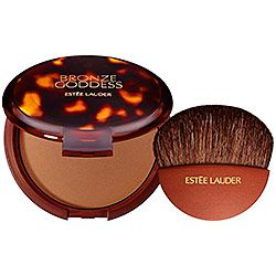Estée Lauder - Bronze Goddess Powder Bronzer  in Light. Even comes with a great brush!! #sephora