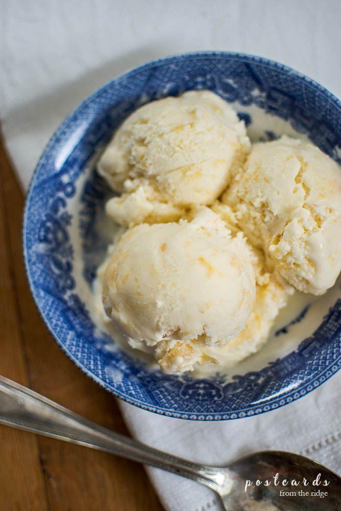 Best homemade peach ice cream recipe!
