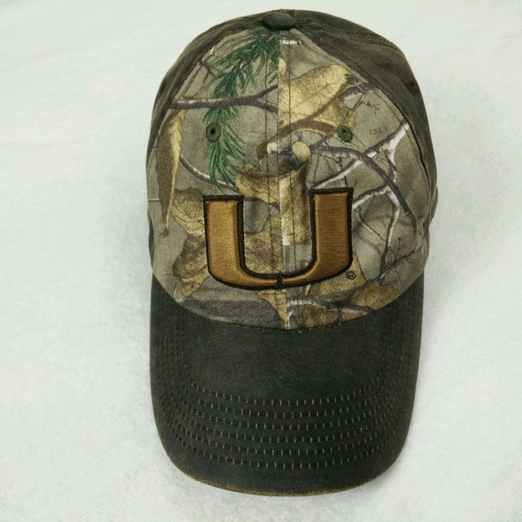 UNIVERSITY OF MIAMI HURRICANES CANES Top of the World Headwear Cap Adjustable #TopoftheWorld #MiamiHurricanes #canes #allabouttheu #cap #umcap #adjustable