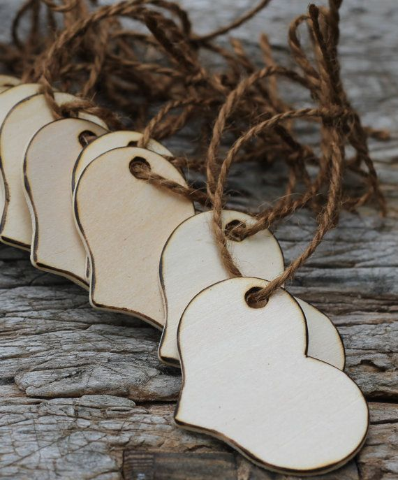 Rustic Wedding Tags Wishing Tree Tags Wood Tags by MichelesCottage, $100.00