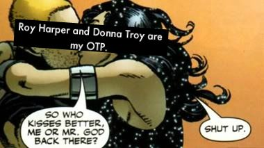 """Donna Troy and Roy Harper 