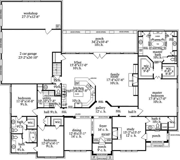 Award Winning Craftsman House Plans: 1000+ Images About House Plans On Pinterest