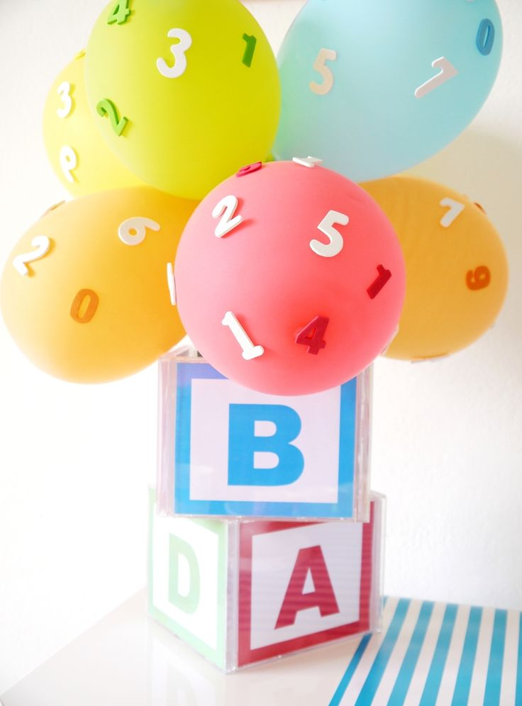 PARTY BLOG by BirdsParty|Printables|Parties|DIYCrafts|Recipes|Ideas: ABCs & 123s Birthday Party for PBS Parents with FREE Printables
