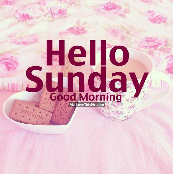 Hi Good Morning Quotes: Best 25+ Happy Sunday Morning Ideas On Pinterest