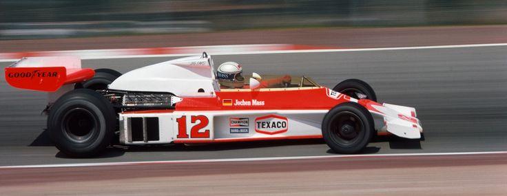 JOCHEN MASS #F1 #Formula1 #GrandPrix #GrandPrixF1 #McLaren #Arrow #March #ATS #Surtees #Ford #Cosworth http://www.snaplap.net/driver/jochen-mass/