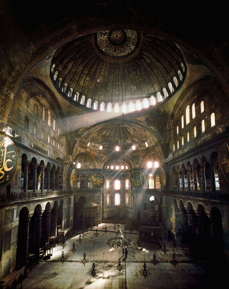 Hagia Sophia, Istanbul - Erich Lessing - pictures, photography, photo art online at LUMAS