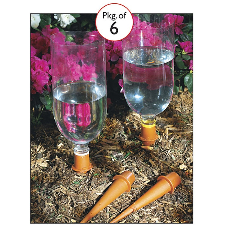 1000 images about upcycle plastic bottles on pinterest - Plastic bottles for gardening ...