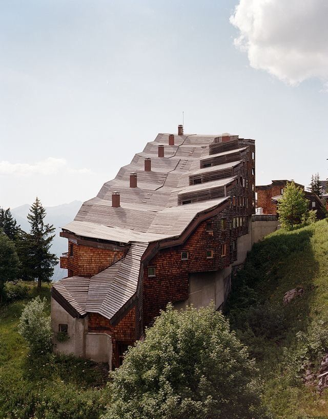 Jacques Labro Jean Jacques Orzoni Jean Marc Roques Ski Resort Avoriaz Haute Savoie French 1970s Architecture Terraced Landscaping Resort