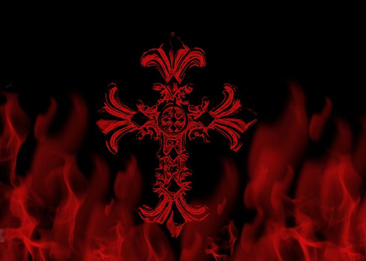 ... Celtic Cross Flame Red Wallpaper, Background, Picture And Layout