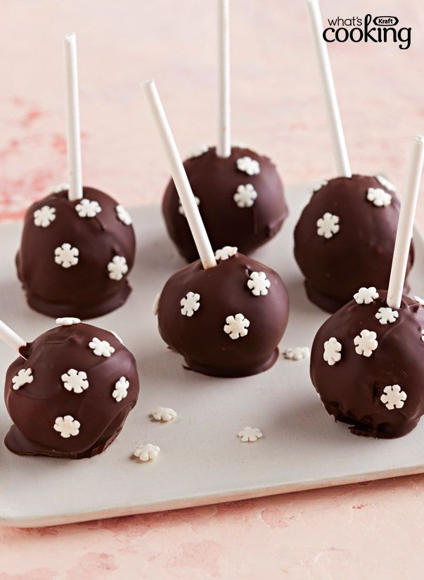 Chocolate Party Pops #recipe