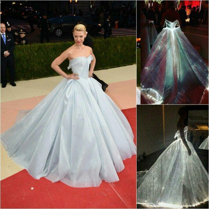 Claire Danes Zac Posen Light Up Dresses Met Gala Dresses Gowns