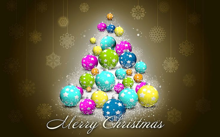 Merry Christmas Happy Holiday Wide HD Wallpape #9998 Wallpaper ...