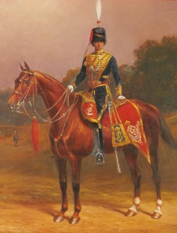Royal Gloucestershire Hussars -Colonel A.J.Palmer, 1902