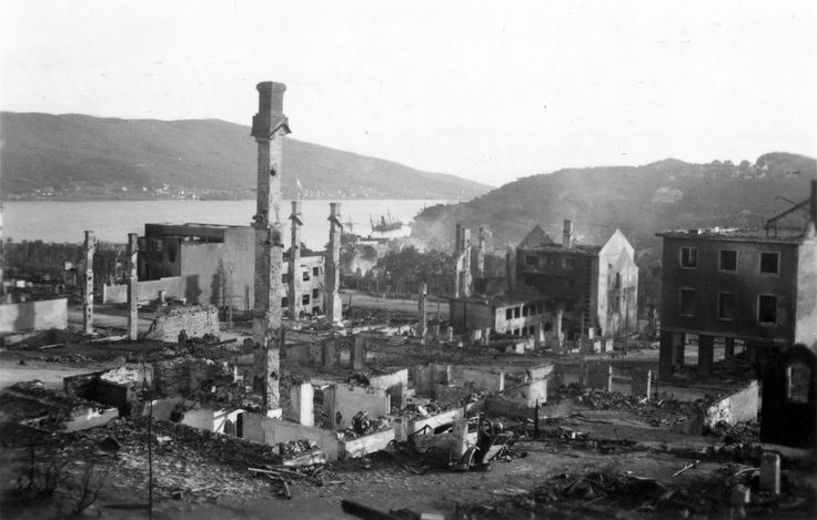 Narvik, Norway after the fighting was over in 1940