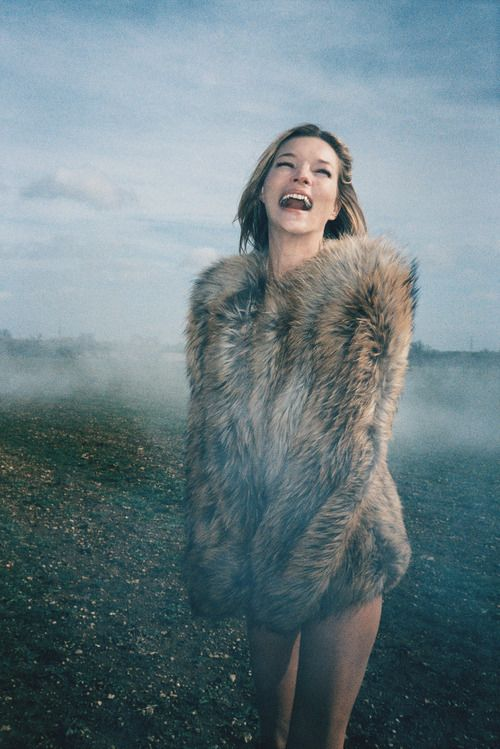 Kate Moss photographed by Ryan McGinley for W Magazine.