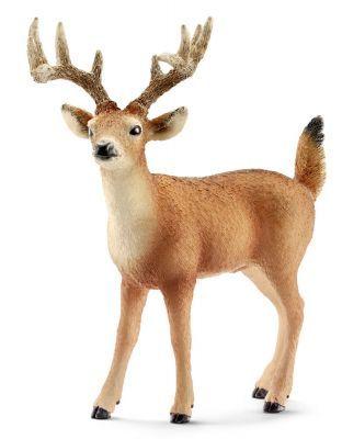 Белохвостый олень самец SCHLEICH  ― Мир игрушки