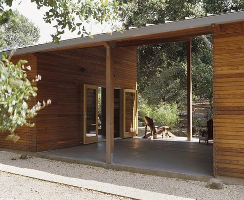 breezeway of the manzanita house by klopf architecture.: Cabin, Modern Exterior, House Ideas, Design Ideas, Breezeway, Klopf Architecture, Photo, Manzanita House, Room