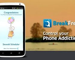 Are you always hooked to your smart phone, much to the annoyance of your parents, teachers and peers? To their delight, here comes an app that promises to cut down your smart phone usage. The app, called BreakFree, will exactly tell how much time you spend on your phone. Breakfree app will not only answer that but also help smart phone addicts learn how to... Read more at http://www.technotification.com/2014/05/always-on-your-smartphone-heres-app.html