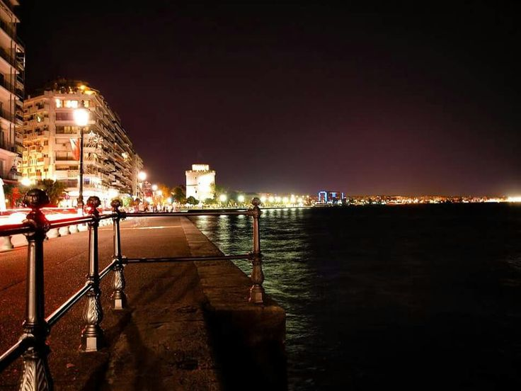 Thessaloniki by night. MAGICAL
