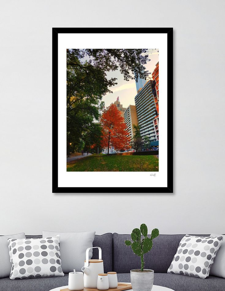 «Fall in Central Park», Numbered Edition Art Print by haroulita - From 18€ - Curioos