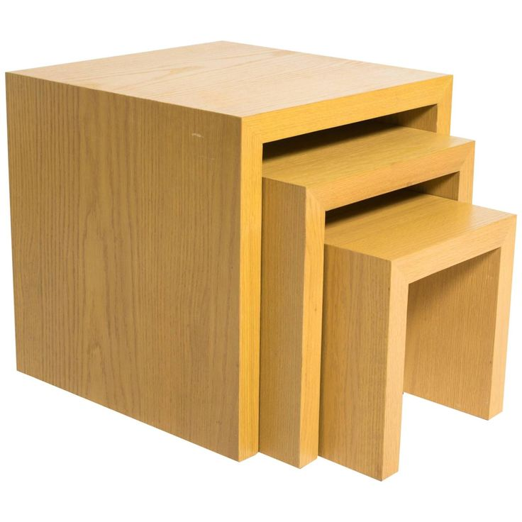 Set of Parsons Nesting Tables