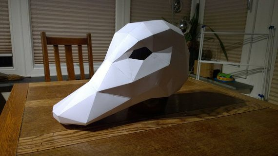 Make your own Duck Mask by Wintercroft on Etsy