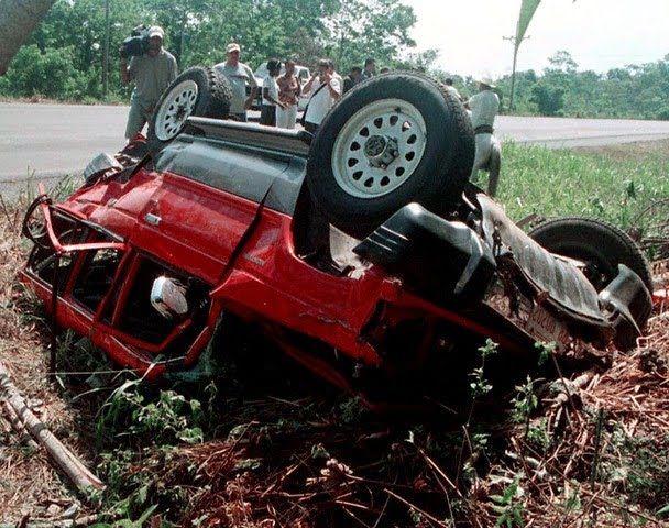 lisa lopes car crash - 500×394