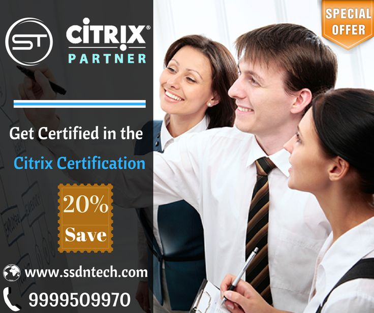 SSDN Technologies also offers Online Training and #Certification for #Citrix. Global Knowledge helps you to pick the Citrix training you need! https://goo.gl/wJll0N