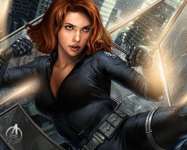 Black Widow a.k.a Natasha Romanoff a.k.a Scarlett Johansson