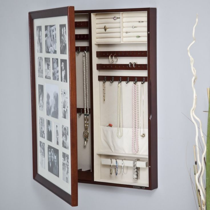 Amazing Collage Photo Frame Jewelry Box   Looks Like A Photo Frame But Opens At  Hinges For