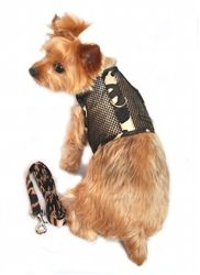Cool Mesh Netted Dog Harness and Leash – Camouflage shop at our online boutique www.zoedoggy.com
