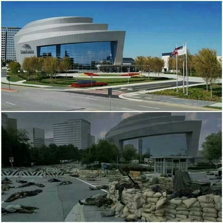 "CDC | TWD S1E6 ""TS-19"": This is the building, the Cobb Energy Performing Arts Center, which served as the CDC. ....2800 Cobb Galleria Pkwy Atlanta, GA 30339"