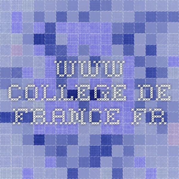 www.college-de-france.fr